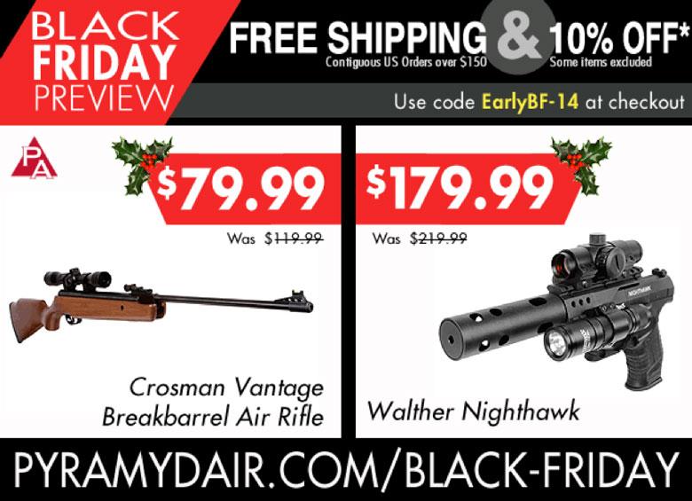 Pyramyd Air Black Friday Sale