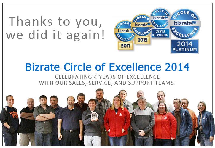 Pyramyd Air Bizrate award