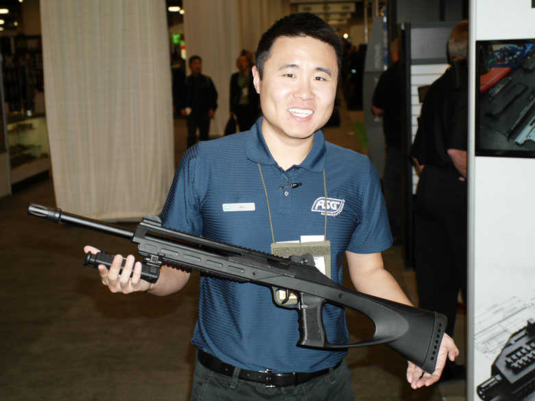 New airguns at SHOT Show 2015 ASG TAC 4.5 air rifle