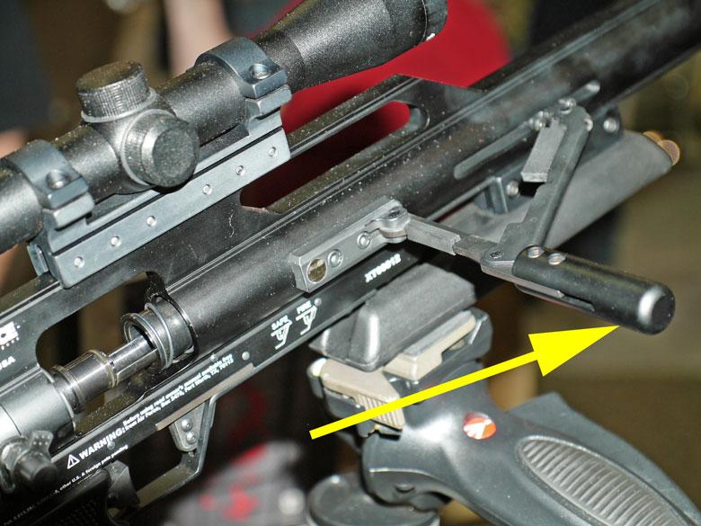 new airguns at SHOT Show 2015 AirForce Texan air rifle
