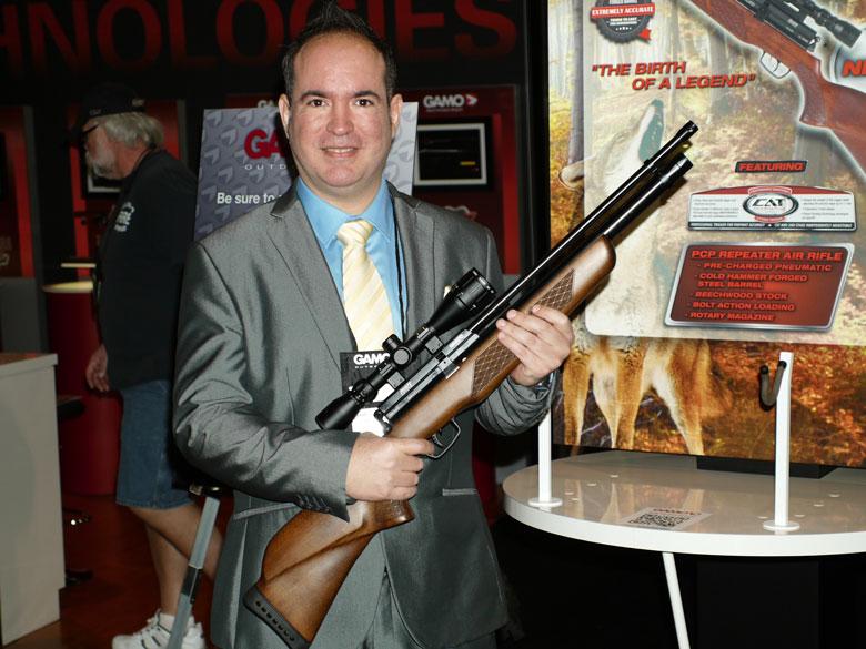 New airguns at SHOT Show 2015 Gamo Coyote
