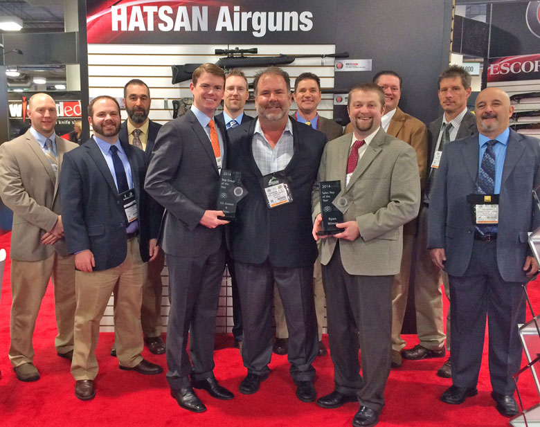 HatsanUSA announced Manufacturers Representative of the Year Winner at SHOT Show 2015.