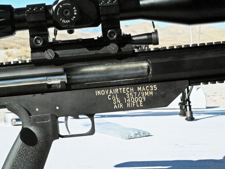 Inovairtech Big Bore Air Rifles