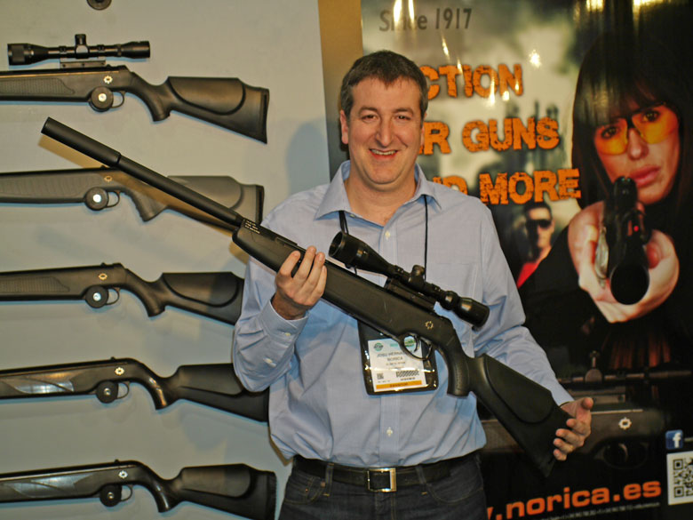 New airguns at SHOT Show 2015 Norica Dragon Evolution Max air rifle
