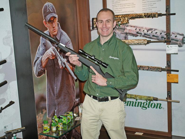 new airguns at SHOT Show 2015 Remington air rifle