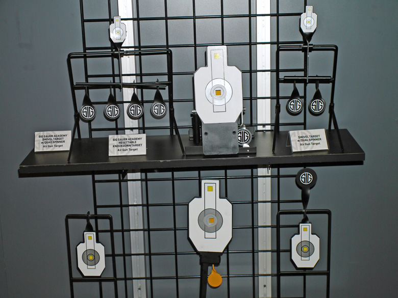 New SIG SAUER airgun targets