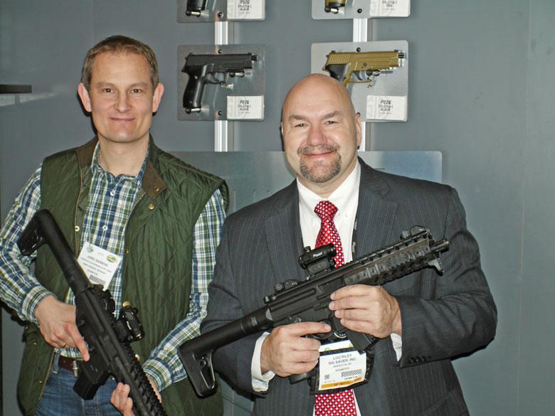 new airguns at 2015 SHOT Show SIG-Sauer