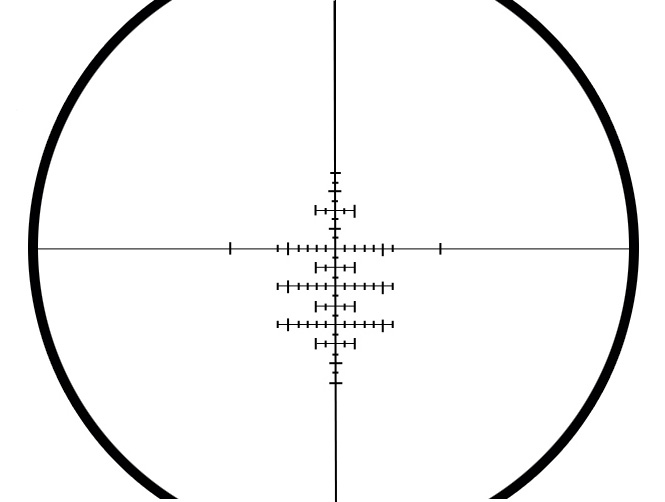 Aeon 8 - 32 x 50 AO scope reticle