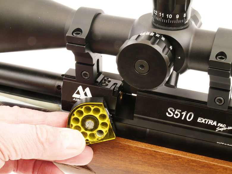 Air Arms S510 Extra FAC Superlight Combo Test Review