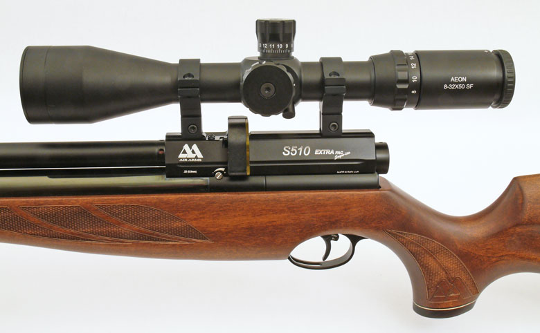 Air Arms S510 Extra FAC Superlight Combo air rifle test review