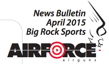 AirForce Airguns will be Carried by Big Rock Sports.