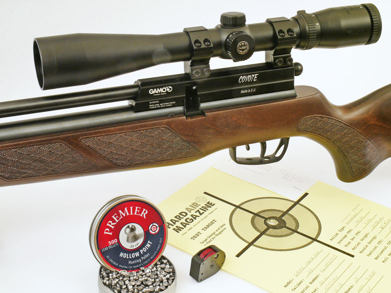 Gamo Coyote PCP Air Rifle Test Review