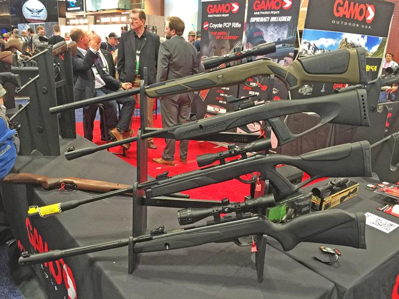 Airguns at the 2015 NRAShow