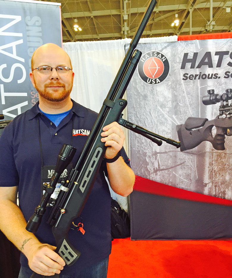Airguns at the 2015 NRA