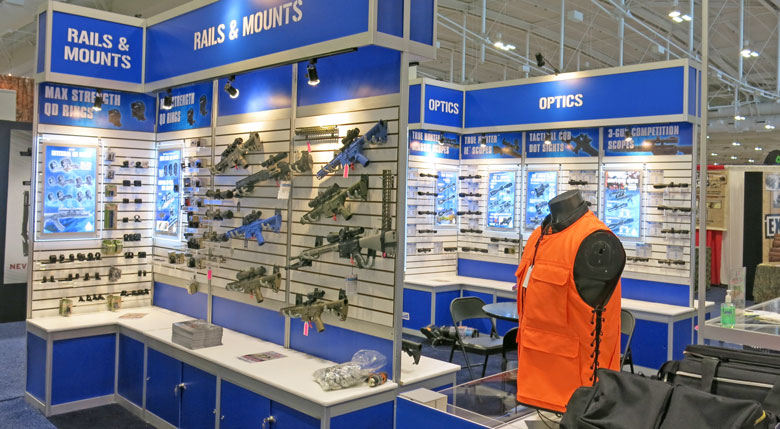 Airguns at the 2015 NRA Show