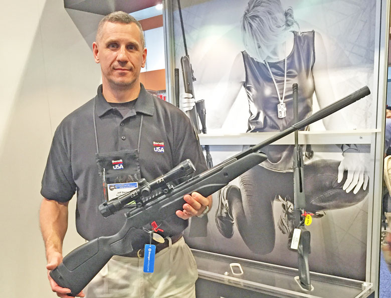 Airguns at the 2015 NRA