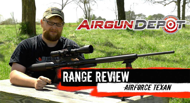 Firearm and Airgun Worlds Collide With The AirForce Texan