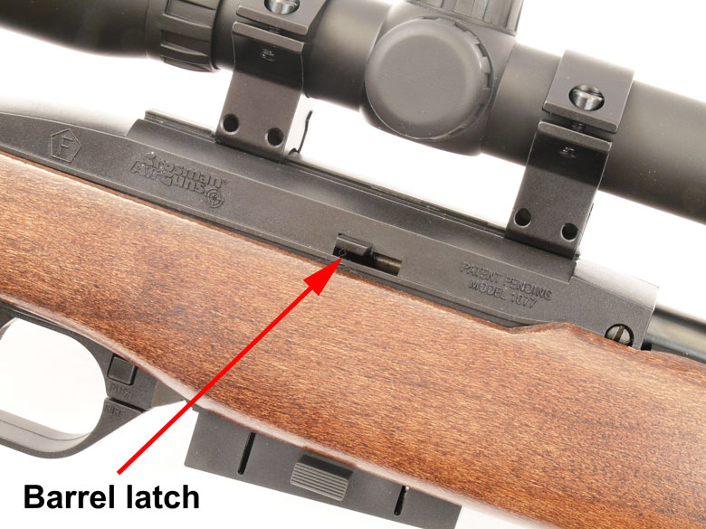 Crosman 1077 Air Rifle Test Review