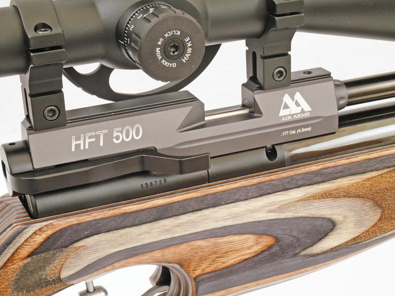 Air Arms HFT 500 Air Rifle Test Review