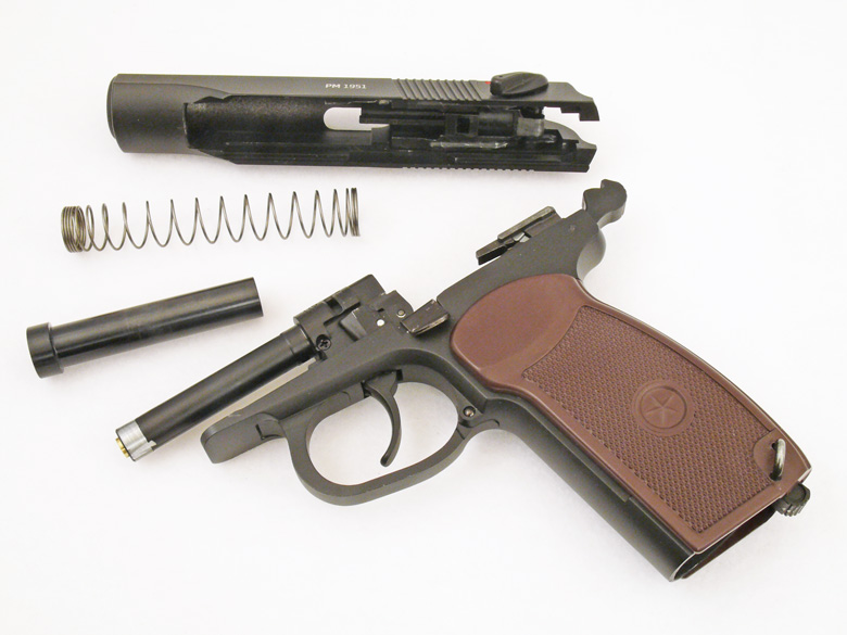 Gletcher PM 1951 Air Pistol Test Review