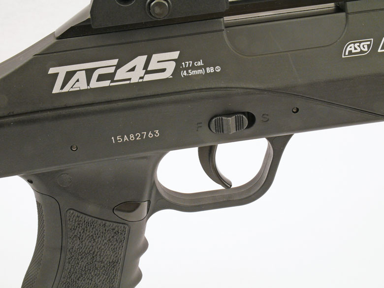 ASG TAC 4.5 BB Rifle Test Review