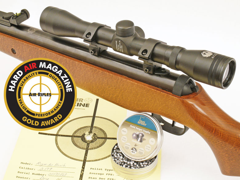 Ruger Air Hawk Air Rifle Test Review