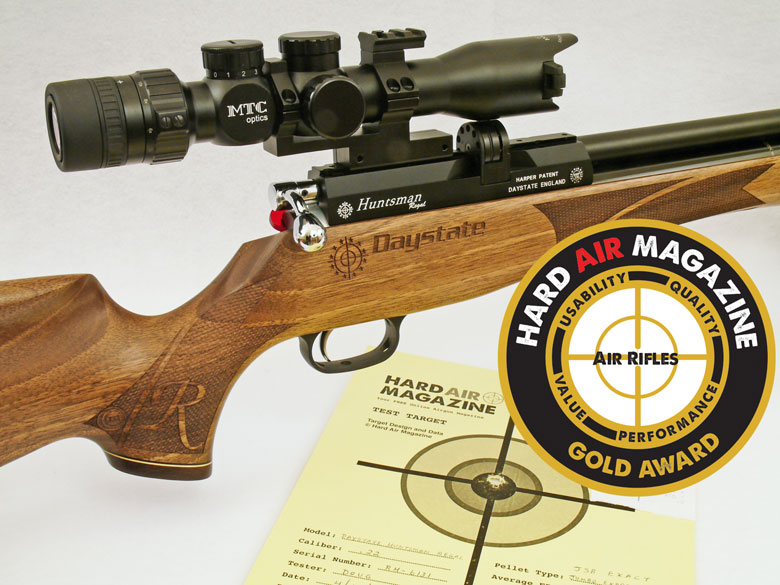 Daystate Regal XL Air Rifle Test Review