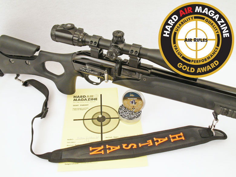 Hatsan Galatian QE Air Rifle Test Review
