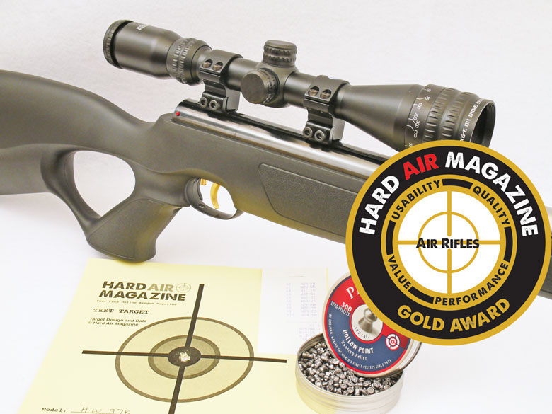 Weihrauch HW97K Air Rifle .177 Cal Test Review