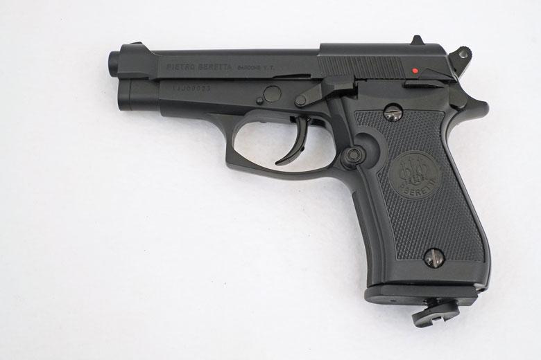Beretta Mod 84FS Blowback Pistol Test Review
