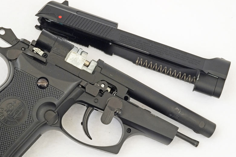 Beretta Mod 84FS Blowback Pistol Test Review