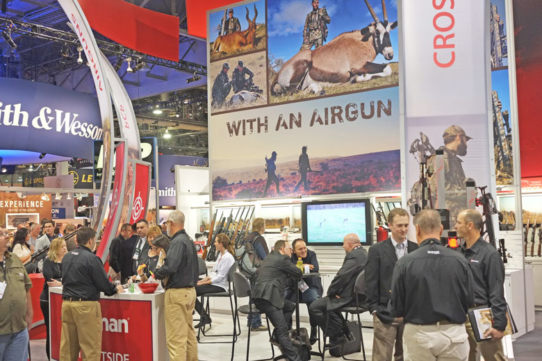 Airguns At The SHOT Show 2016 Day 1 Report