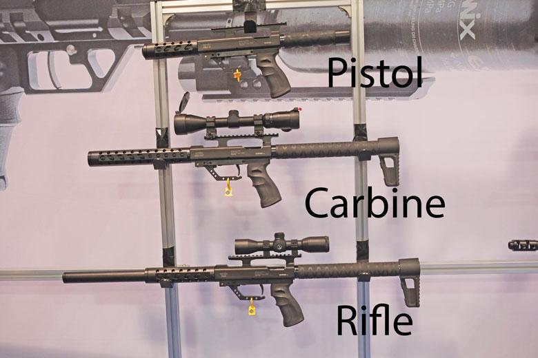 airguns at the SHOT Show 2016