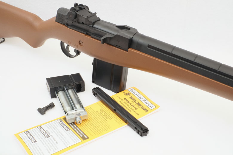 Winchester M14 CO2 Air Rifle Test Review