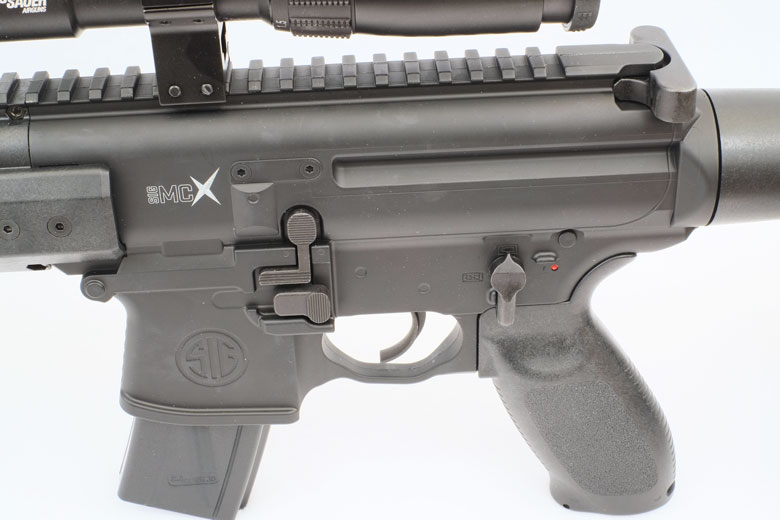 SIG SAUER MCX Air Rifle Test Review