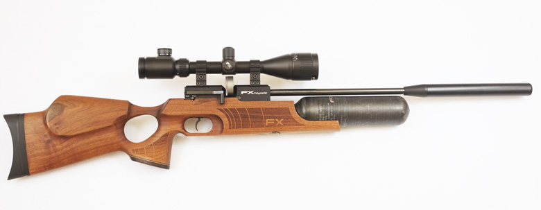 fx royale 400 air rifle test review 22 cal