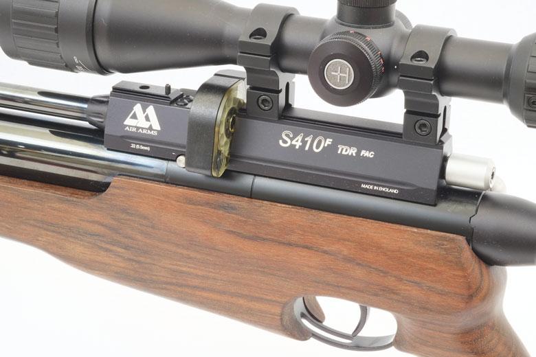 Air Arms S410 TDR Air Rifle Test Review