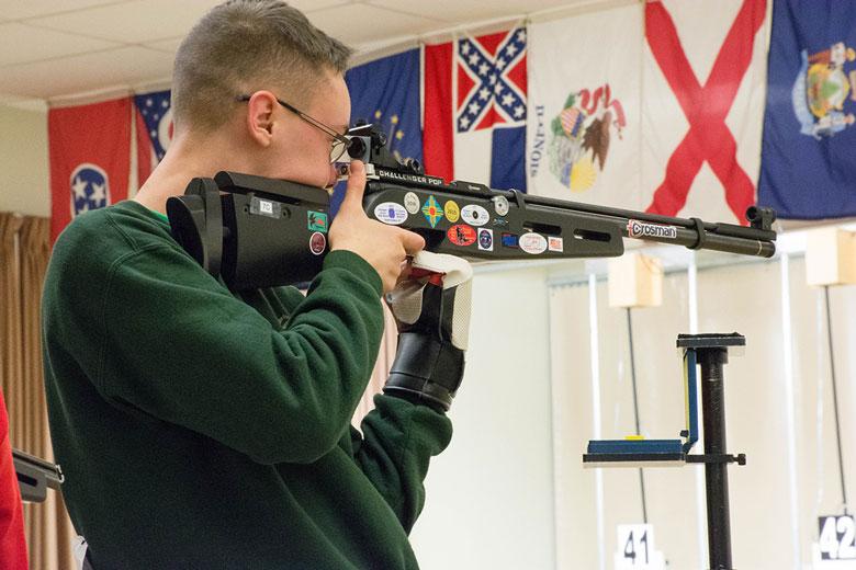 National Records Set at CMP 3P Air Rifle Regional Championship