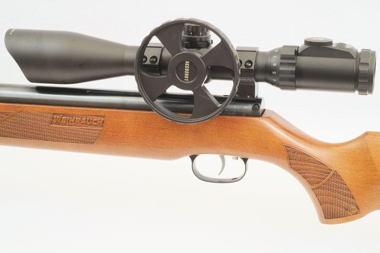 Weihrauch HW50S Air Rifle Test Review .22 Caliber