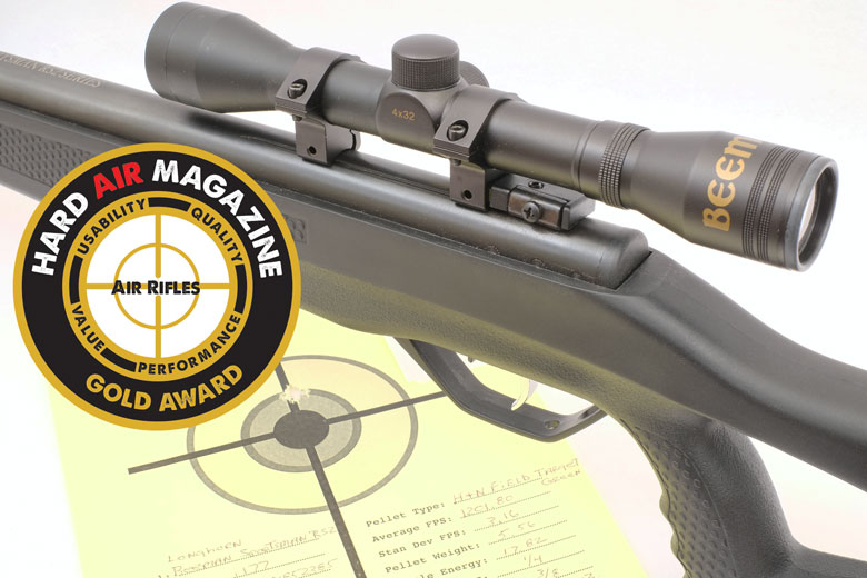 Beeman Longhorn Air Rifle Test Review .177 Cal
