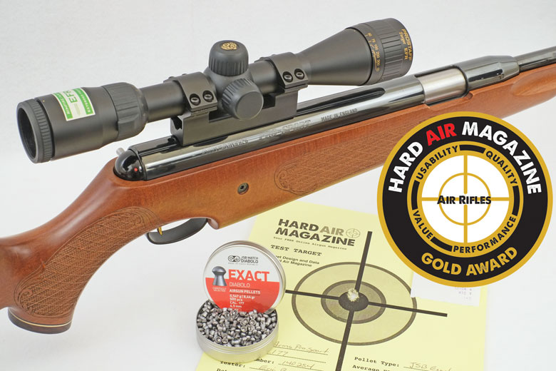 Air Arms Pro Sport Air Rifle Test Review .177 Caliber