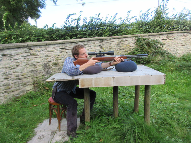 What's the Best Shooting Position For Airgun Hunting?