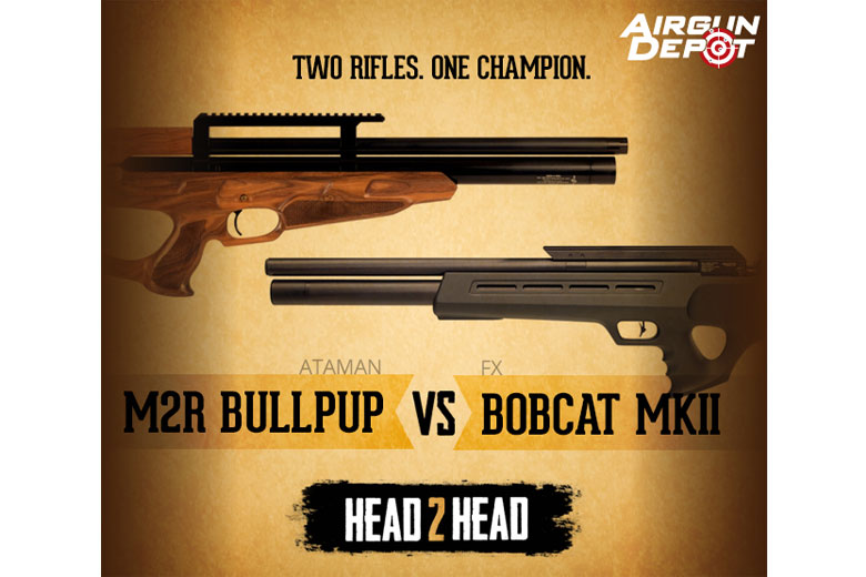 Head to Head  25 Caliber Bullpup Comparison at Airgun Depot