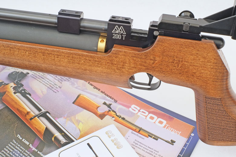 Air Arms T200 Sporter Air Rifle Test Review