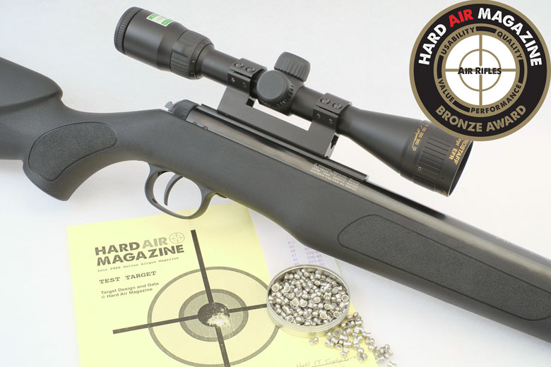 Diana Panther 350 N-Tec Air Rifle Test Review  22 Cal