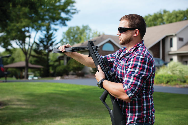 SBD Technology From Crosman Dampens Noise Without Obstructing View