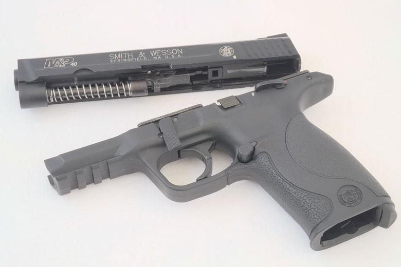 Smith & Wesson M&P 40 Blowback BB Pistol Test Review