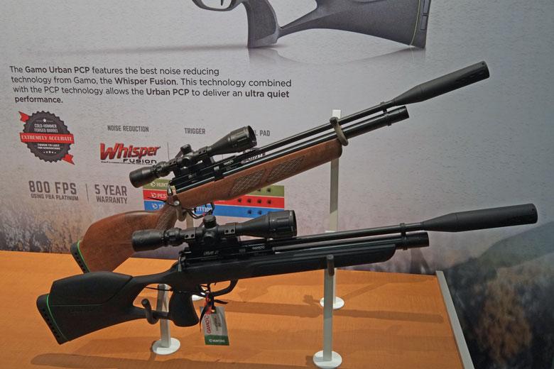 airguns at the 2017 SHOT Show