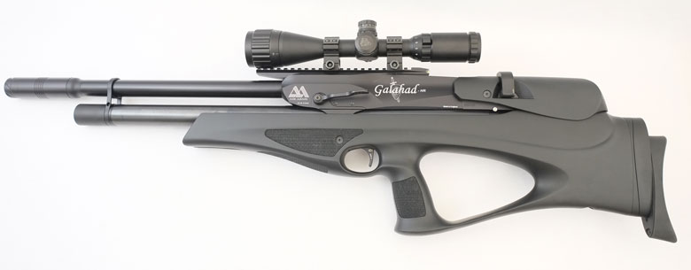 Air Arms Galahad Bullpup Air Rifle Test Review .22 Caliber