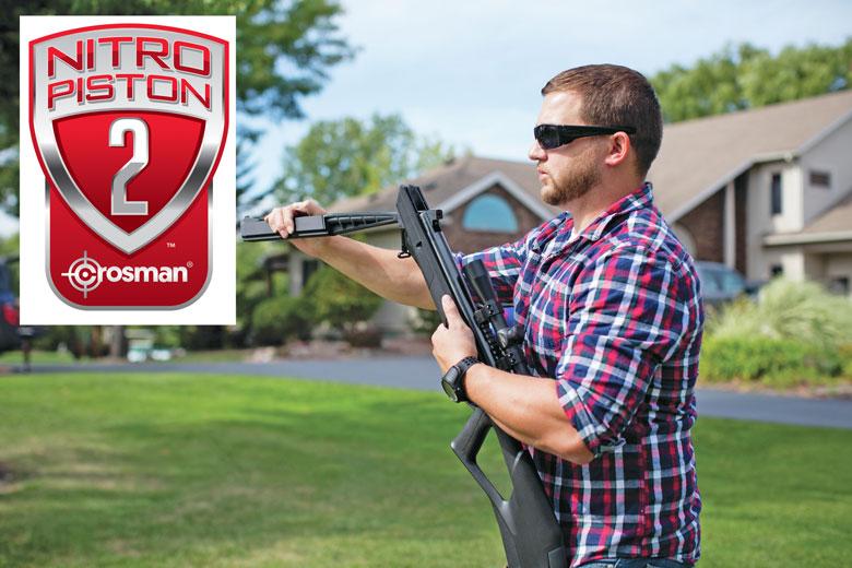 Nitro Piston 2 Patent Issued To Crosman Corporation
